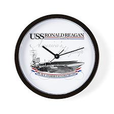 USS Ronald Reagan Wall Clock