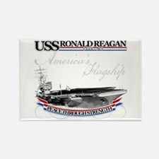 USS Ronald Reagan Rectangle Magnet