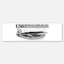USS Ronald Reagan Bumper Bumper Bumper Sticker