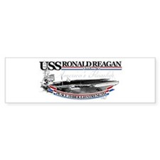 USS Ronald Reagan Bumper Bumper Sticker