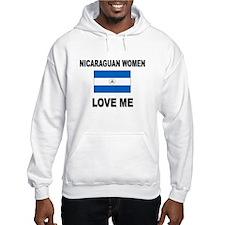 Nicaraguan Women Love Me Hoodie
