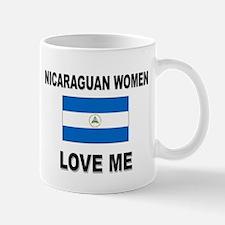 Nicaraguan Women Love Me Mug