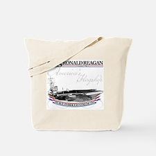 USS Ronald Reagan Tote Bag