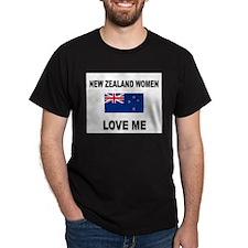 New Zealand Women Love Me T-Shirt
