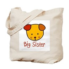 Dog Big Sister Tote Bag