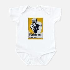 Knowledge Punch Infant Bodysuit