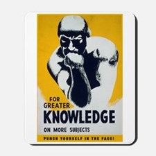 Knowledge Punch Mousepad