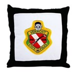 Vermont SP Dive Team Throw Pillow