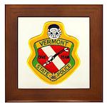 Vermont SP Dive Team Framed Tile