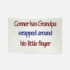 Conner Has Grandpa Rectangle Magnet