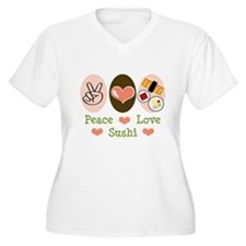 Peace Love Sushi T-Shirt