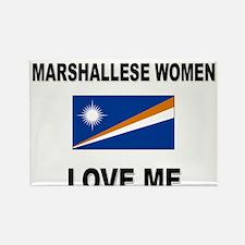 Marshallese Women Love Me Rectangle Magnet