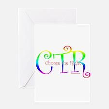 CTR Greeting Card