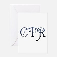 CTR Greeting Card