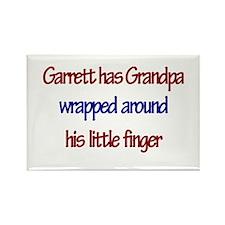 Garrett Has Grandpa Rectangle Magnet