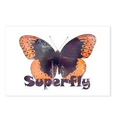 Vintage Distressed Superfly B Postcards (Package o