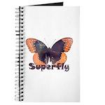 Vintage Distressed Superfly B Journal