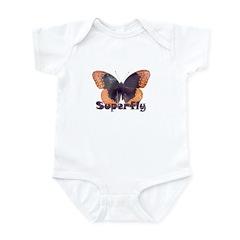 Vintage Distressed Superfly B Infant Bodysuit