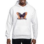Vintage Distressed Superfly B Hooded Sweatshirt