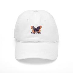 Vintage Distressed Superfly B Baseball Cap