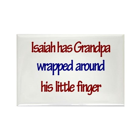 Isaiah Has Grandpa Rectangle Magnet
