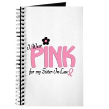 I Wear Pink For My Sister-In-Law 14 Journal