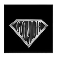 SuperGoalie(metal) Tile Coaster