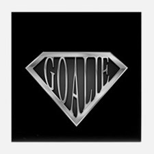 SuperGoalie(metal) Tile Coaster