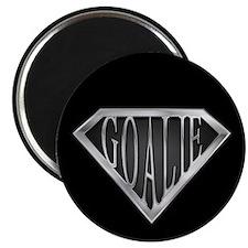 """SuperGoalie(metal) 2.25"""" Magnet (10 pack)"""