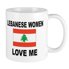 Lebanese Women Love Me Small Mug