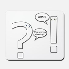 Punctuation Mousepad