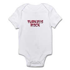 Turkeys Rock Infant Bodysuit