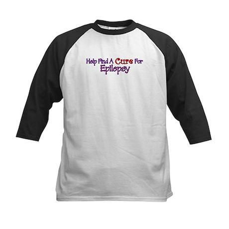 Help find Cure EPILEPSY Kids Baseball Jersey