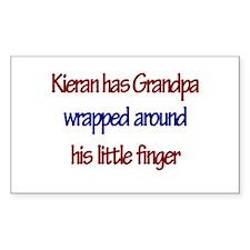 Kieran Has Grandpa Rectangle Decal