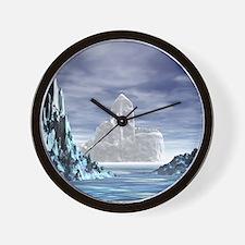 Ice Castle - Wall Clock