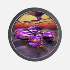 Speed Demon - Wall Clock