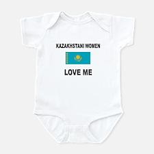 Kazakhstani Women Love Me Infant Bodysuit