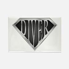 SuperDiver(metal) Rectangle Magnet