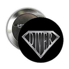 "SuperDiver(metal) 2.25"" Button (10 pack)"