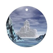 Ice Castle - Ornament (Round)