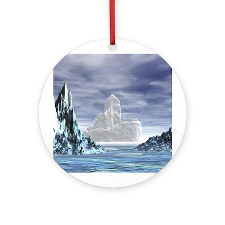 Ice Castle - Ornament (Round)