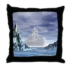 Ice Castle - Throw Pillow