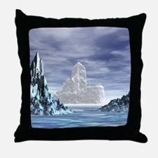 Ice Castle - Throw Pillow