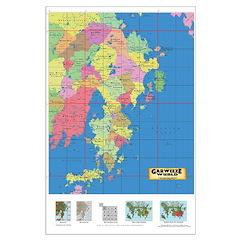 Garweeze Wurld Political Map