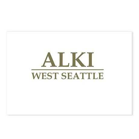 Alki Postcards (Package of 8)
