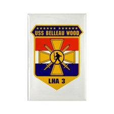 USS Belleau Wood LHA-3 Rectangle Magnet