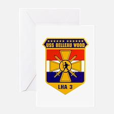 USS Belleau Wood LHA-3 Greeting Card