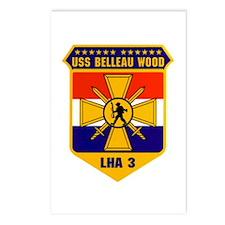 USS Belleau Wood LHA-3 Postcards (Package of 8)