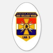 USS Belleau Wood LHA-3 Oval Decal