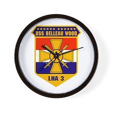 USS Belleau Wood LHA-3 Wall Clock